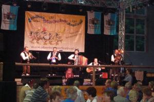 Beim Oberkrainer Festival in Bernau